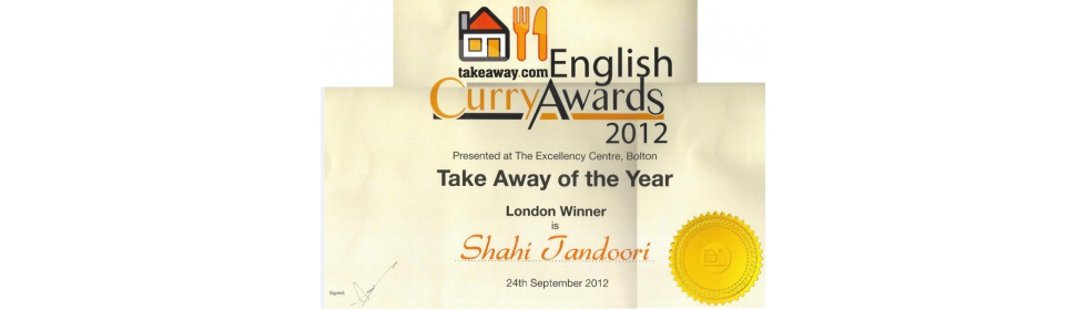 2012 Curry Awards